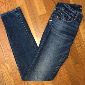 American Eagle Skinny Jeans, size 0